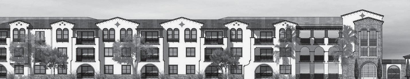 LATER IN LIFE—An artist's rendering shows the proposed high-end senior condos in Calabasas.