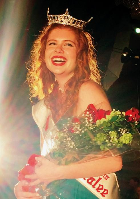 ROSE IN BLOOM—Lauren Waller of Westlake Village was crowned 2015 Southern California Rose of Tralee. Waller is a singer, songwriter finishing production of a five-song EP. She is studying technical theater production and design at Pepperdine University in Malibu.